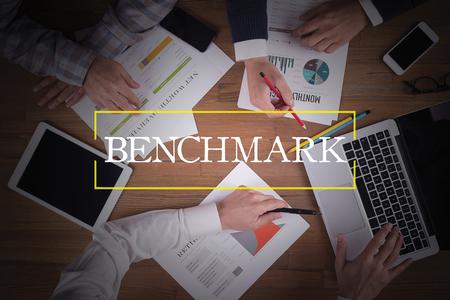 benchmark: BUSINESS TEAM WORKING OFFICE  Benchmark TEAMWORK BRAINSTORMING CONCEPT