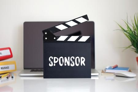 sponsor: Cinema Clapper with Sponsor word