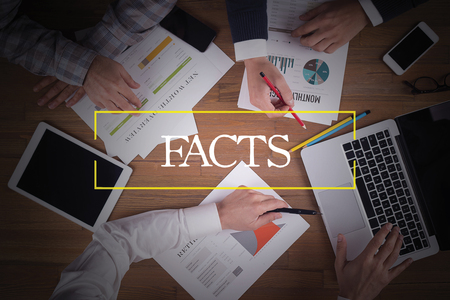 factual: BUSINESS TEAM WORKING OFFICE  Facts TEAMWORK BRAINSTORMING CONCEPT