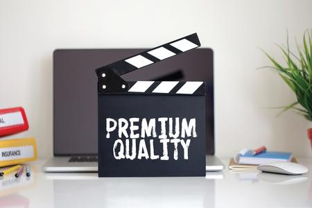 clapper: Cinema Clapper with Premium Quality word