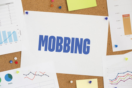 mobbing: CHART BUSINESS GRAPH RESULT COMPANY MOBBING CONCEPT