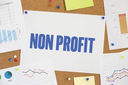 non profit: CHART BUSINESS GRAPH RESULT COMPANY NON PROFIT CONCEPT