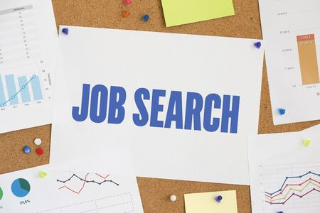 search result: CHART BUSINESS GRAPH RESULT COMPANY JOB SEARCH CONCEPT Stock Photo