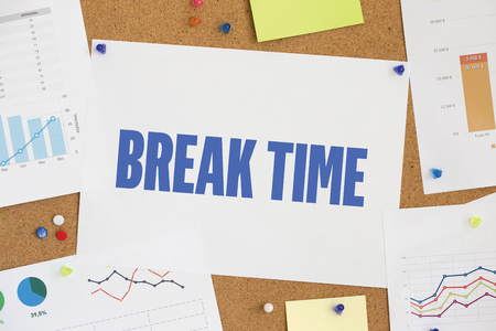 break: CHART BUSINESS GRAPH RESULT COMPANY BREAK TIME CONCEPT