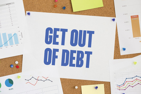 get out: CHART BUSINESS GRAPH RESULT COMPANY GET OUT OF DEBT CONCEPT