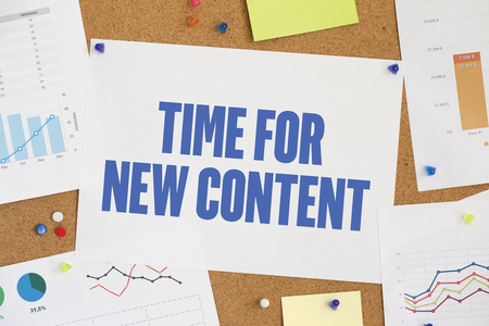 keywords link: CHART BUSINESS GRAPH RESULT COMPANY  TIME FOR NEW CONTENT CONCEPT Stock Photo