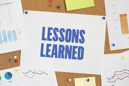 summarize: CHART BUSINESS GRAPH RESULT COMPANY LESSONS LEARNED CONCEPT