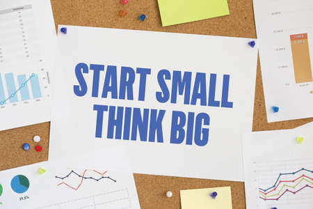 surpass: CHART BUSINESS GRAPH RESULT COMPANY  START SMALL THINK BIG CONCEPT