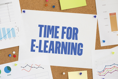 instances: CHART BUSINESS GRAPH RESULT COMPANY  TIME FOR E-LEARNING CONCEPT