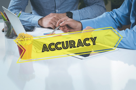 accuracy: BUSINESS WORKING OFFICE Accuracy TEAMWORK BRAINSTORMING CONCEPT Stock Photo