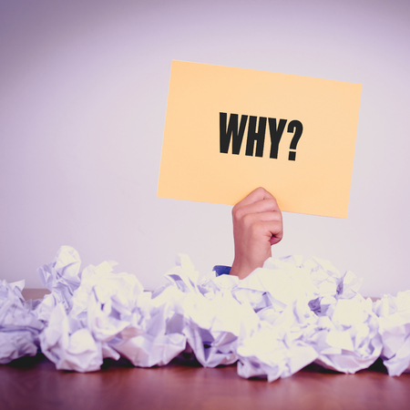 querying: HAND HOLDING YELLOW PAPER WITH WHY?CONCEPT