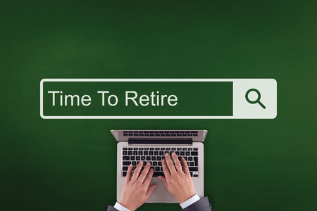 retire: PEOPLE WORKING OFFICE COMMUNICATION  TIME TO RETIRE TECHNOLOGY SEARCHING CONCEPT