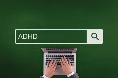 Völkerverständigung GESUNDHEITSWESEN ADHD TECHNOLOGY SUCHT CONCEPT Standard-Bild