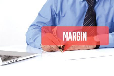 margen: BUSINESSMAN WORKING OFFICE  MARGIN COMMUNICATION SPEECH BUBBLE CONCEPT