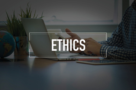 work ethic responsibilities: PEOPLE USING SMARTPHONE COMMUNICATION TECHNOLOGY  ETHICS OFFICE CONCEPT