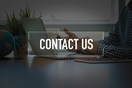 PEOPLE USING SMARTPHONE COMMUNICATION TECHNOLOGY  CONTACT US OFFICE CONCEPT