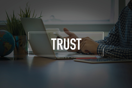 trust people: PEOPLE USING SMARTPHONE COMMUNICATION TECHNOLOGY  TRUST OFFICE CONCEPT