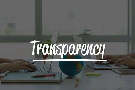 compliant: TEAMWORK OFFICE BUSINESS COMMUNICATION TECHNOLOGY  TRANSPARENCY GLOBAL NETWORK CONCEPT Stock Photo