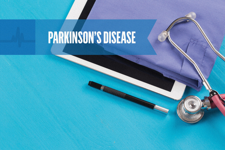 HEALTHCARE DOCTOR TECHNOLOGY  PARKINSONS DISEASE CONCEPT