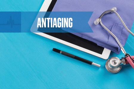 antiaging: HEALTHCARE DOCTOR TECHNOLOGY  ANTIAGING CONCEPT