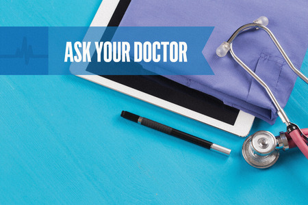 doctor burnout: HEALTHCARE DOCTOR TECHNOLOGY  ASK YOUR DOCTOR CONCEPT