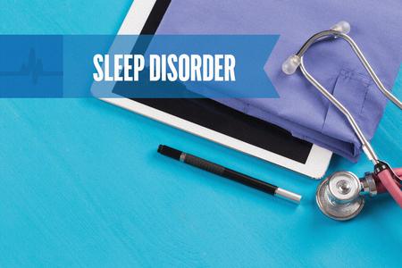 sleep disorder: HEALTHCARE DOCTOR TECHNOLOGY  SLEEP DISORDER CONCEPT