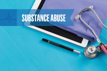HEALTHCARE DOCTOR TECHNOLOGY  SUBSTANCE ABUSE CONCEPT