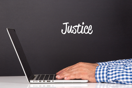 justness: WORKING OFFICE COMMUNICATION PEOPLE USING COMPUTER JUSTICE CONCEPT