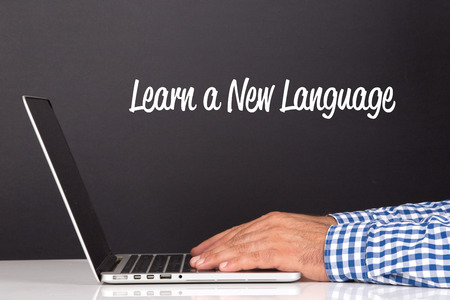 fluency: WORKING OFFICE COMMUNICATION PEOPLE USING COMPUTER LEARN A NEW LANGUAGE CONCEPT