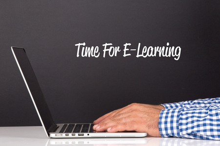 instances: WORKING OFFICE COMMUNICATION PEOPLE USING COMPUTER TIME FOR E-LEARNING CONCEPT