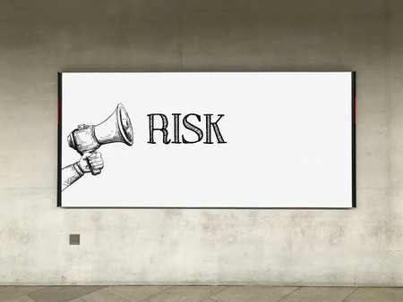 risky situation: MEGAPHONE ANNOUNCEMENT RISK ON BILLBOARD