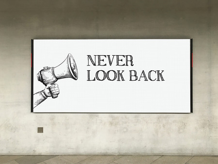 forthcoming: MEGAPHONE ANNOUNCEMENT NEVER LOOK BACK ON BILLBOARD