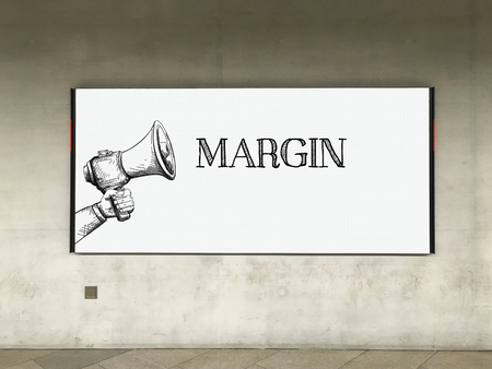 margin: MEGAPHONE ANUNCIO MARGEN DE LA CARTELERA