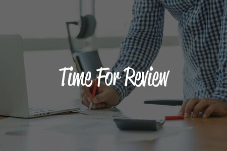 reassessment: BUSINESS OFFICE WORKING COMMUNICATION TIME FOR REVIEW BUSINESSMAN CONCEPT