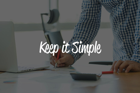 cogent: BUSINESS OFFICE WORKING COMMUNICATION KEEP IT SIMPLE BUSINESSMAN CONCEPT