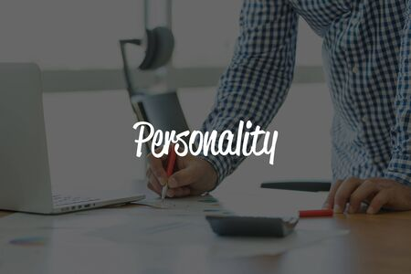 PERSONALITY: BUSINESS OFFICE WORKING COMMUNICATION PERSONALITY BUSINESSMAN CONCEPT