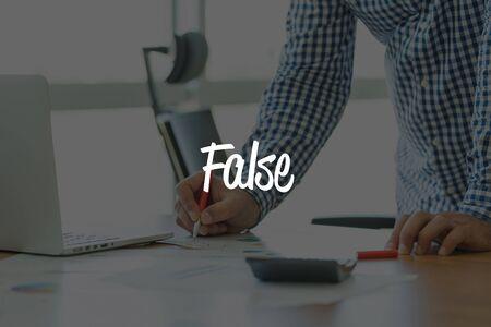falso: OFICINA DE TRABAJO CONCEPTO DE LA COMUNICACIÓN DE NEGOCIOS Falso