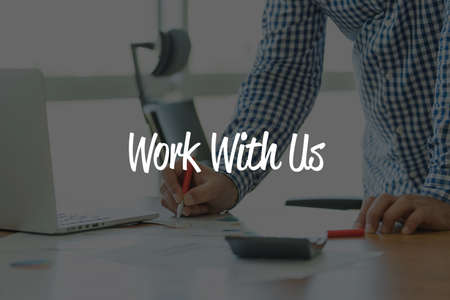 new recruit: BUSINESS OFFICE WORKING COMMUNICATION WORK WITH US BUSINESSMAN CONCEPT