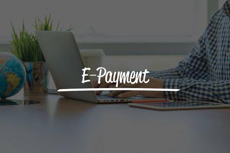 epayment: BUSINESS OFFICE WORKING COMMUNICATION E-PAYMENT BUSINESSMAN CONCEPT