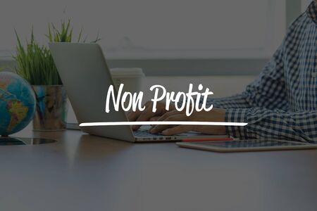 non profit: BUSINESS OFFICE WORKING COMMUNICATION NON PROFIT BUSINESSMAN CONCEPT