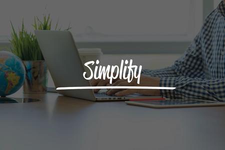pragmatic: BUSINESS OFFICE WORKING COMMUNICATION SIMPLIFY BUSINESSMAN CONCEPT