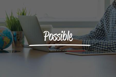 unachievable: BUSINESS OFFICE WORKING COMMUNICATION POSSIBLE BUSINESSMAN CONCEPT