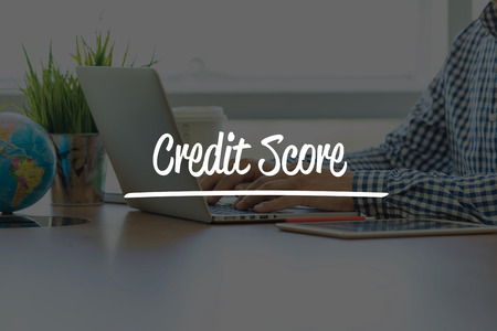 customer records: BUSINESS OFFICE WORKING COMMUNICATION CREDIT SCORE BUSINESSMAN CONCEPT Stock Photo