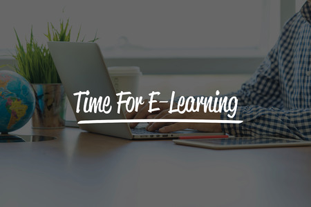 instances: BUSINESS OFFICE WORKING COMMUNICATION TIME FOR E-LEARNING BUSINESSMAN CONCEPT