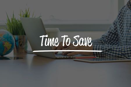 frugality: BUSINESS OFFICE WORKING COMMUNICATION TIME TO SAVE BUSINESSMAN CONCEPT