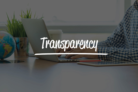 evident: BUSINESS OFFICE WORKING COMMUNICATION TRANSPARENCY BUSINESSMAN CONCEPT Stock Photo