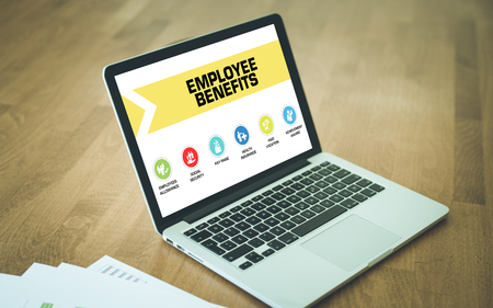 provision: Employee Benefits Concept on Laptop Screen