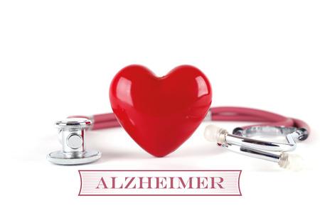 insanity: HEALTH CONCEPT ALZHEIMER Stock Photo