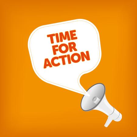TIME FOR ACTION Illustration