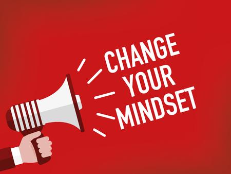 CHANGE YOUR MINDSET Illustration